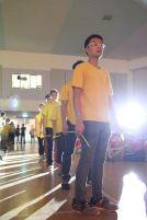 Faraday dancers/marchers