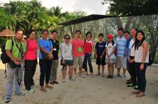 Our teachers who accompanied us