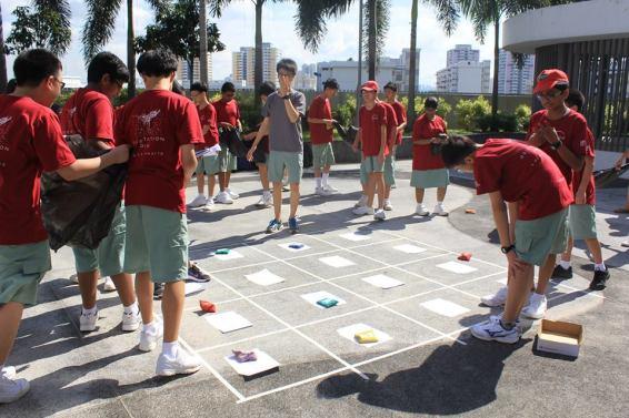 Games outside school