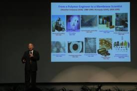 Keynote speaker Dr. Tai-Shung (Neal) Chung